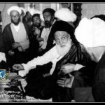 "احترام آیت الله العظمی بروجردی به نام مقدس امام زمان ""سلام الله علیه"""